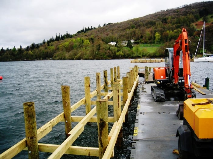 Advantages and disadvantages of timber piles for Wood piling foundation cost