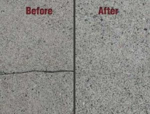 Foundation crack repair | before and After