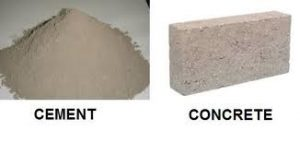 Difference Between Cement and Concrete – Cement vs Concrete