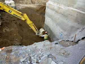 Common Methods Used For Bracing Sides of Shallow Excavations