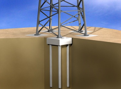 Pile foundation how to install piles in a pile foundation for Foundation pilings