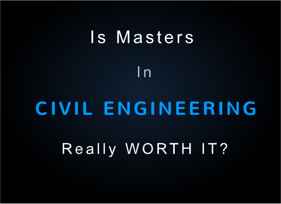 civil engineering masters degree program
