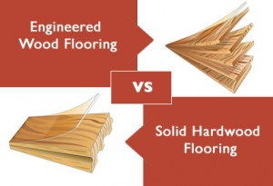 Difference Between Laminate Flooring, Engineered Flooring and Real Wood Flooring
