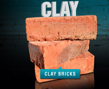 Standard burnt clay bricks