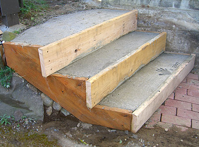 Build Concrete Steps Step By Step Guide
