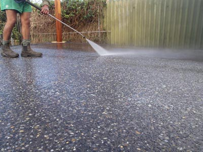 Exposed Aggregate Concrete Maintenance Is Difficult