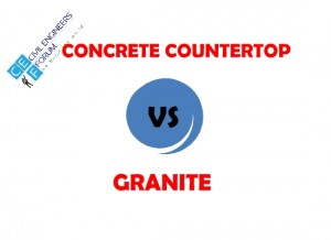 Difference Between Concrete Countertops and Granite