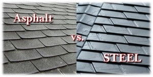 Asphalt Vs Metal Roofs – Difference Between Asphalt and Metal Roofs