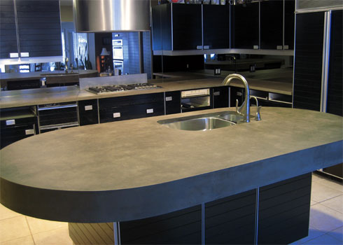 concrete countertop. Granite ...