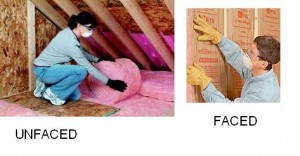 Faced Vs Unfaced Insulation – Difference Between Faced Insulation and Unfaced Insulation