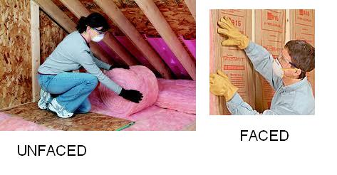 Faced Insulation Vs Unfaced Insulation Civil Engineers Forum