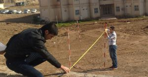 Linear surveying | Taping