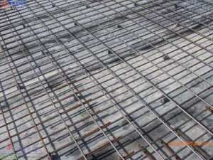 temperature and shrinkage steel