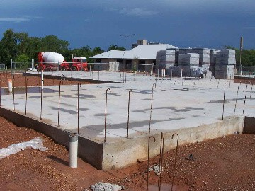 slab foundation - usage, pros and cons