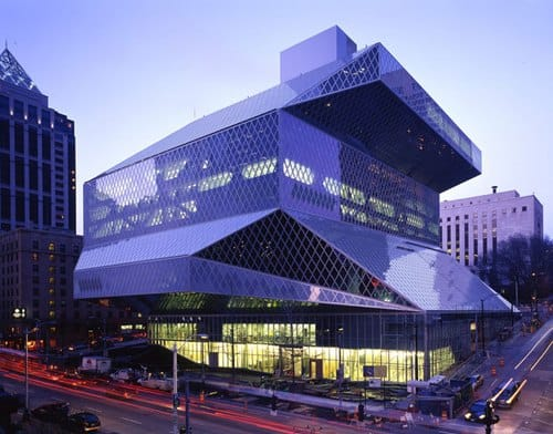 Seattle Central Library - Civil Engineers Forum