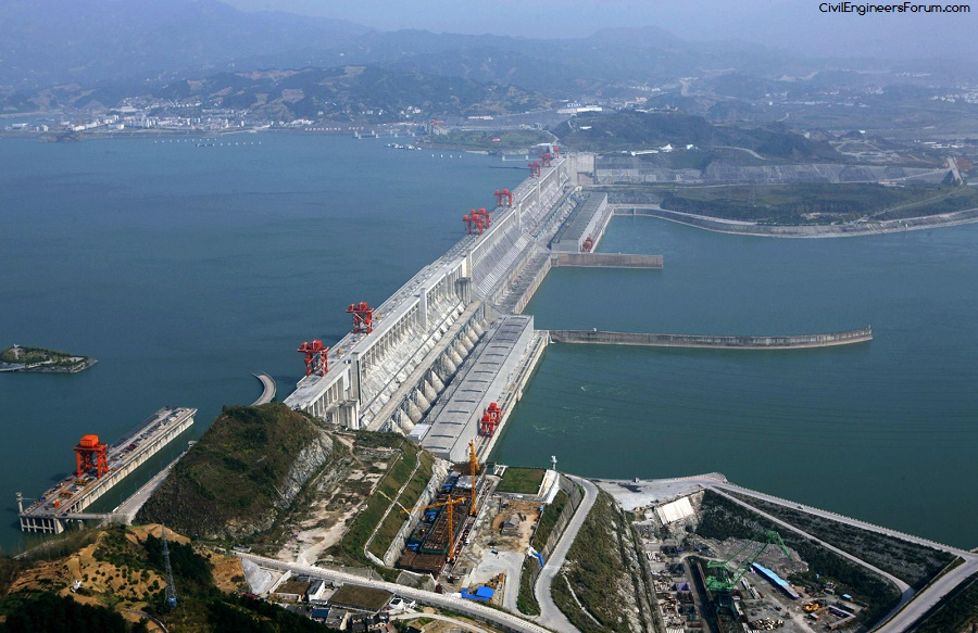 Three Gorges Dam - one of the most famous dams in the world
