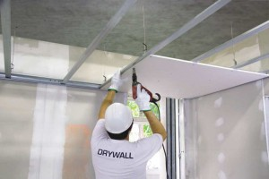 drywall - difference between drywall and plaster