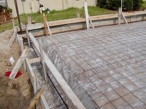 sealed concrete curing - time and strength
