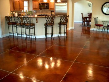 Stained Concrete Floor pricing