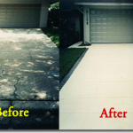 concrete resurfacing before and after