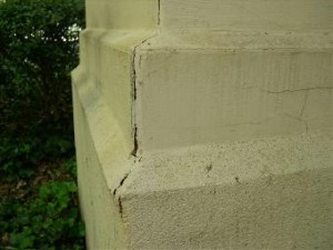 crack in synthetic stucco