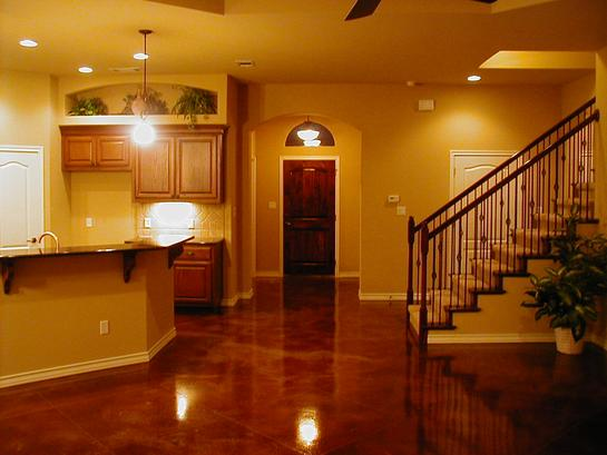 Stained Concrete Floor Cost