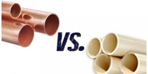 copper pipe and pvc pipe