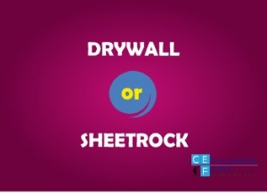drywall and sheetrock compare