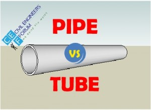 pipe vs tube differences