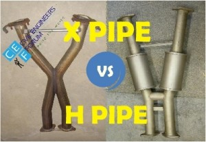 x pipe and h pipe difference